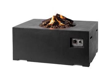 Peisbord Rektangulær, sort