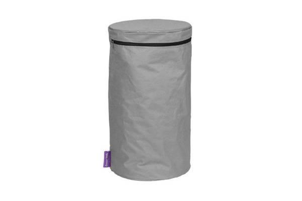 PVC trekk til gassflaske, grå, 11kg