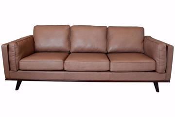 Endo sofa 3 seter, brun PU