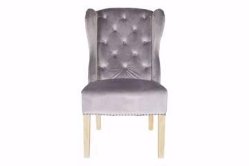 Bilde av Genus stol, grå velur