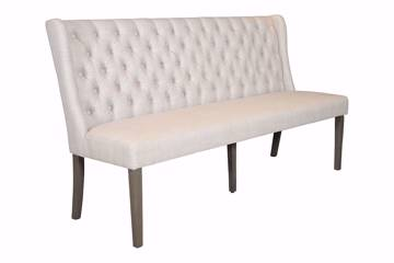 Bilde av William spisesofa, beige