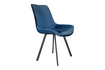 Meros stol, mørk blå velur