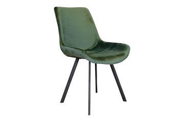 Meros stol, mørk grønn velur