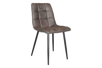 Uva stol, grå microfiber
