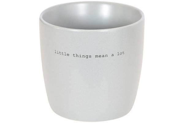 "Kopp Grå "" Litle things"""