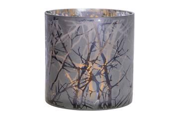 Lysholder, glass