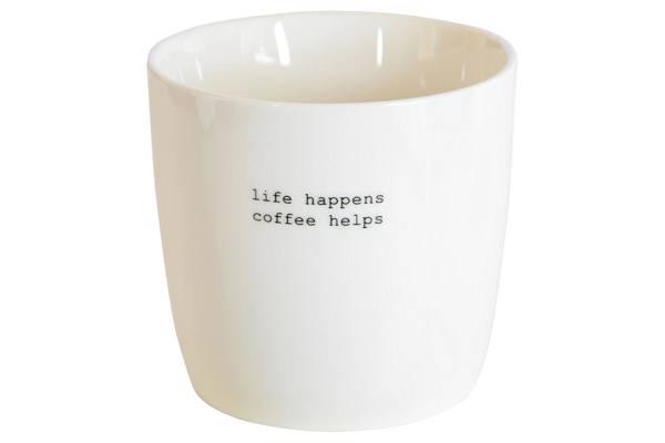 """Kopp""""Life happens, coffe helps"""""""