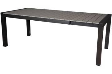 Noonwood uttrekkbartbord, grå 160/210x95cm