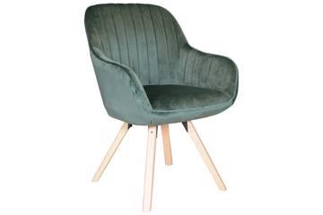 Kata stol, grønn velur