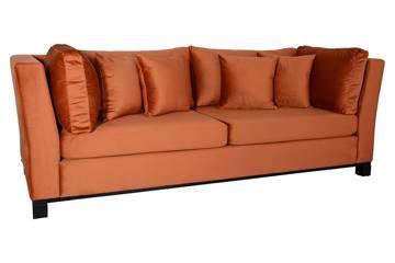 Forma 3 seter sofa, rusty velur