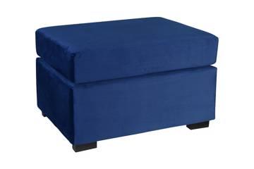Hemara pall, blå velur