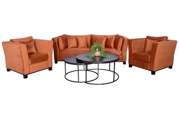 Forma sofagruppe, rusty velur