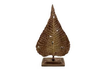 Deko blad, antikk gull