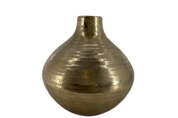 Keramikvase, antikk gull