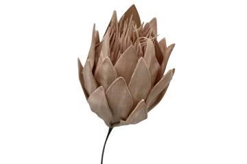 Kunstig blomst, beige