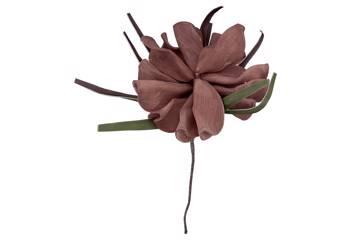 Kunstig blomst, rosa