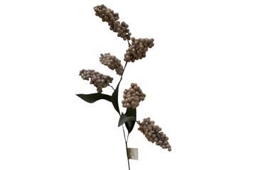 Kunstig blomst, bær, 2 grener