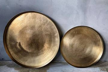 Lysfat metall gull, stor