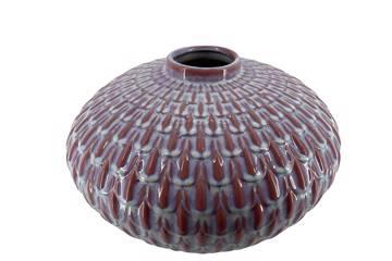Clara keramikvase, rosa