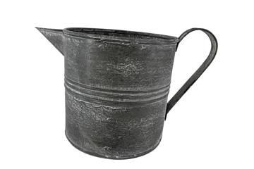Kanne, jern, antikk grå