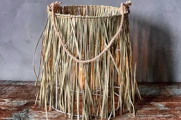 Bambuslykt, gress, stor