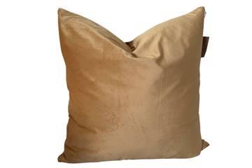 Putetrekk, Masala, shiny velvet, 60x60cm