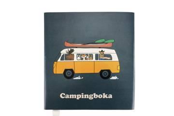 Campingboka, mørkblå