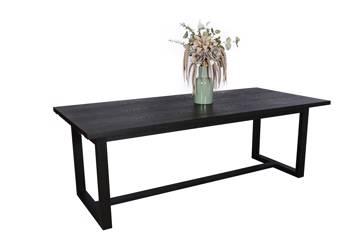 Ferrum rektangulært spisebord, 220/300x100cm
