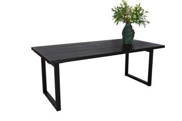 Ferrum rektangulært spisebord, 200/290x100cm